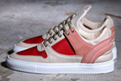 Filling Pieces Low Top Transformed Peach Feature