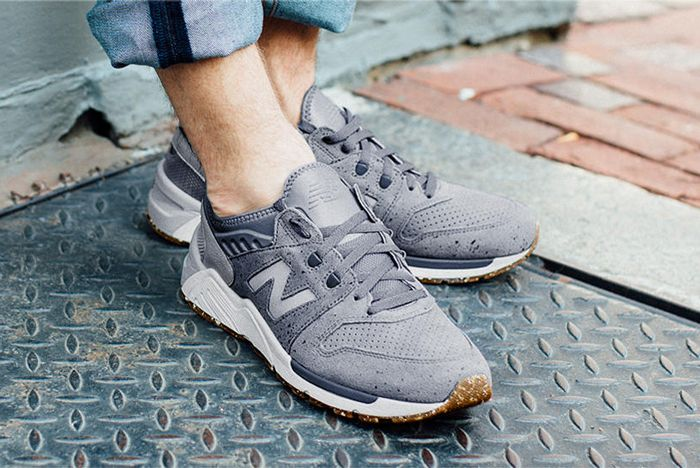 New Balance 009 Speckle Suede4