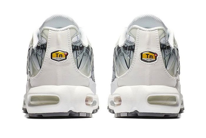 Nike Air Max Plus Le Requin New White Heel