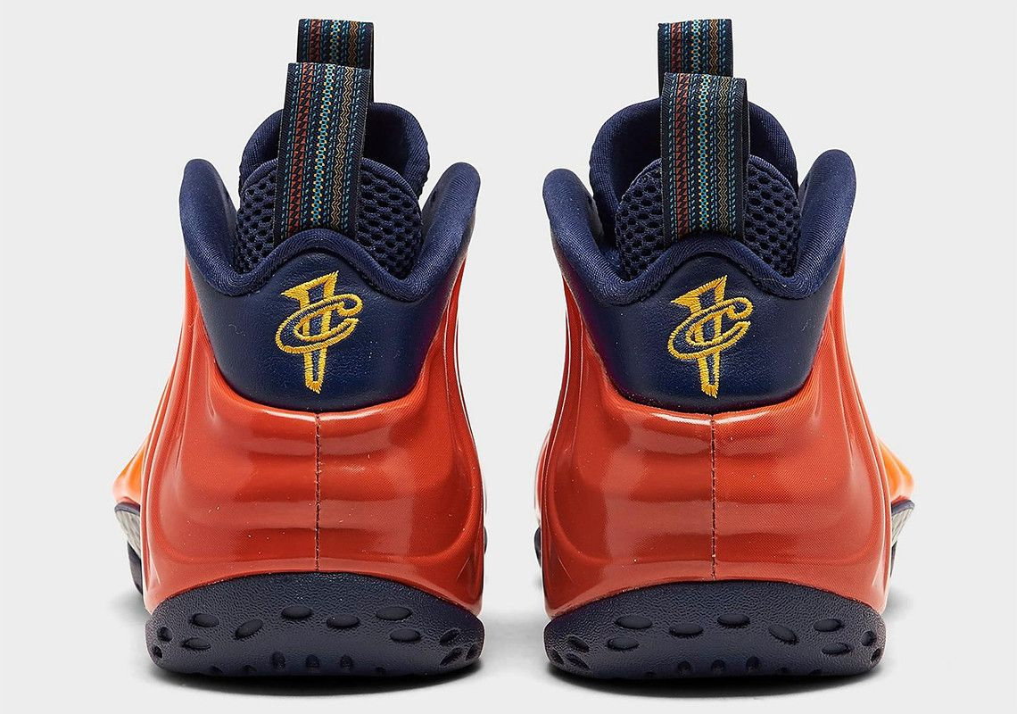 Nike Air Foamposite One Rugged Orange Heel