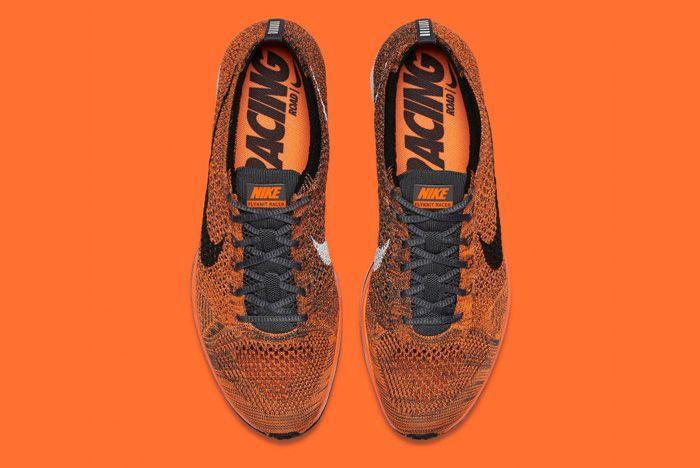 Nike Flyknit Racer Orange 5