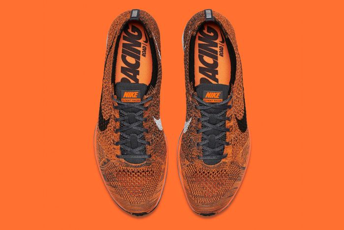 Nike Flyknit Racer Orange 5