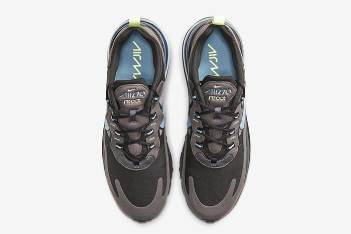 Nike Air Max 270 React Brown Above Shot