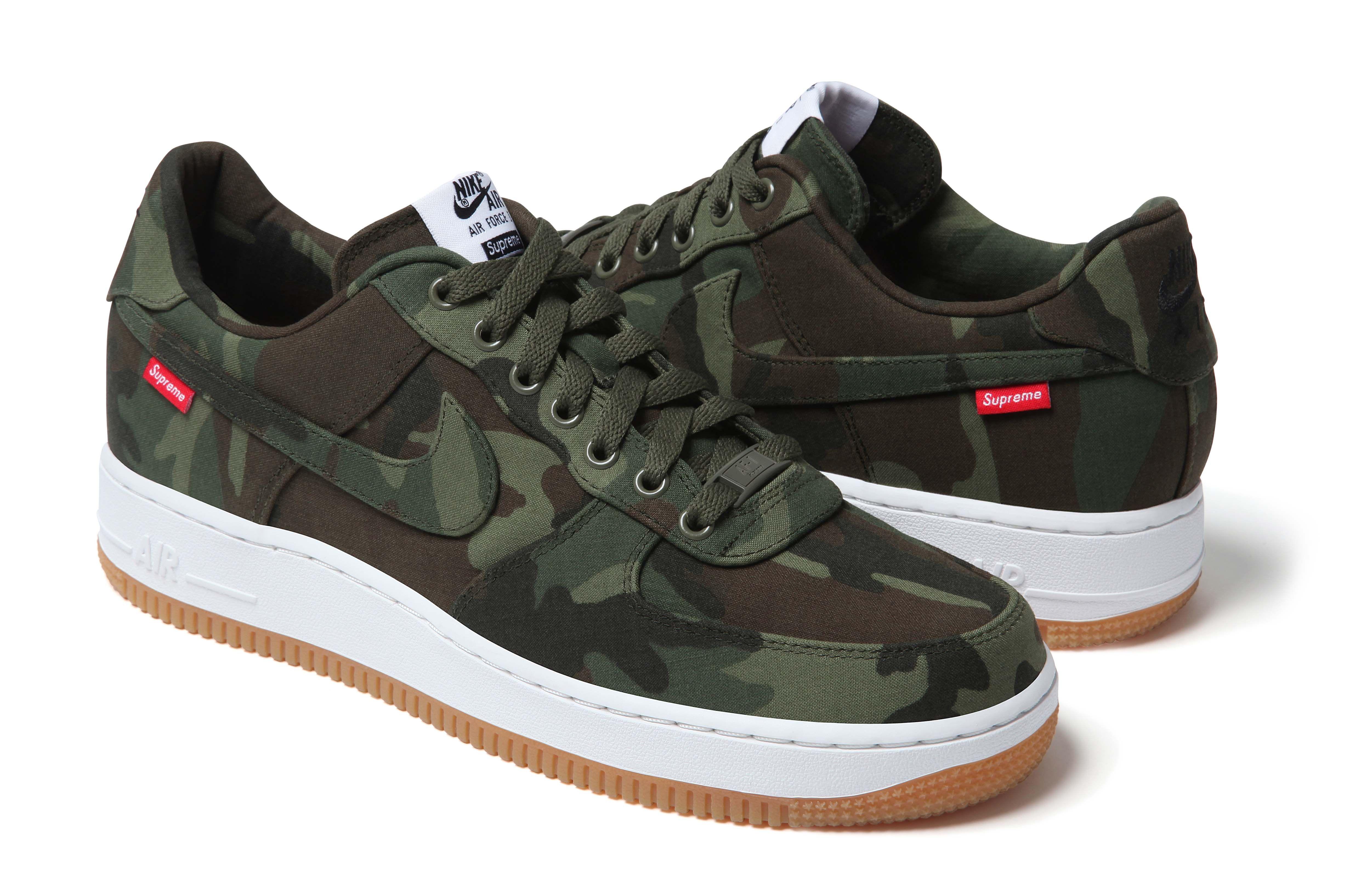 Supreme x Nike Air Force 1 (2012)