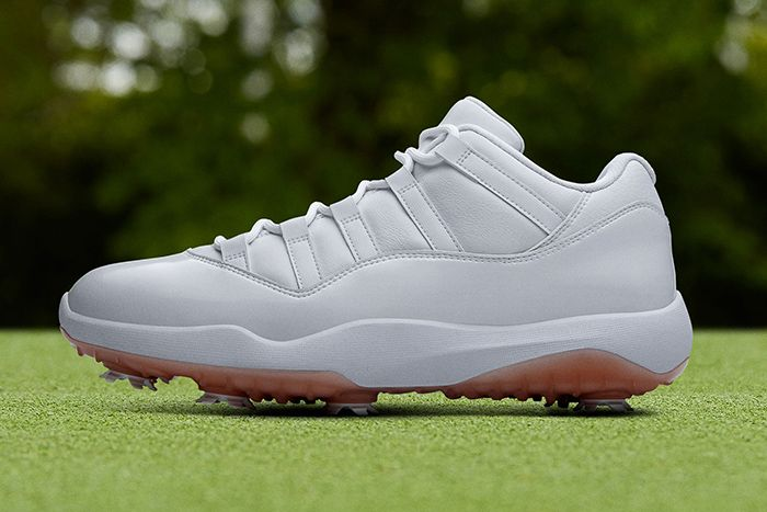 Air Jordan 11 Low Golf White Gum Release Date Hero