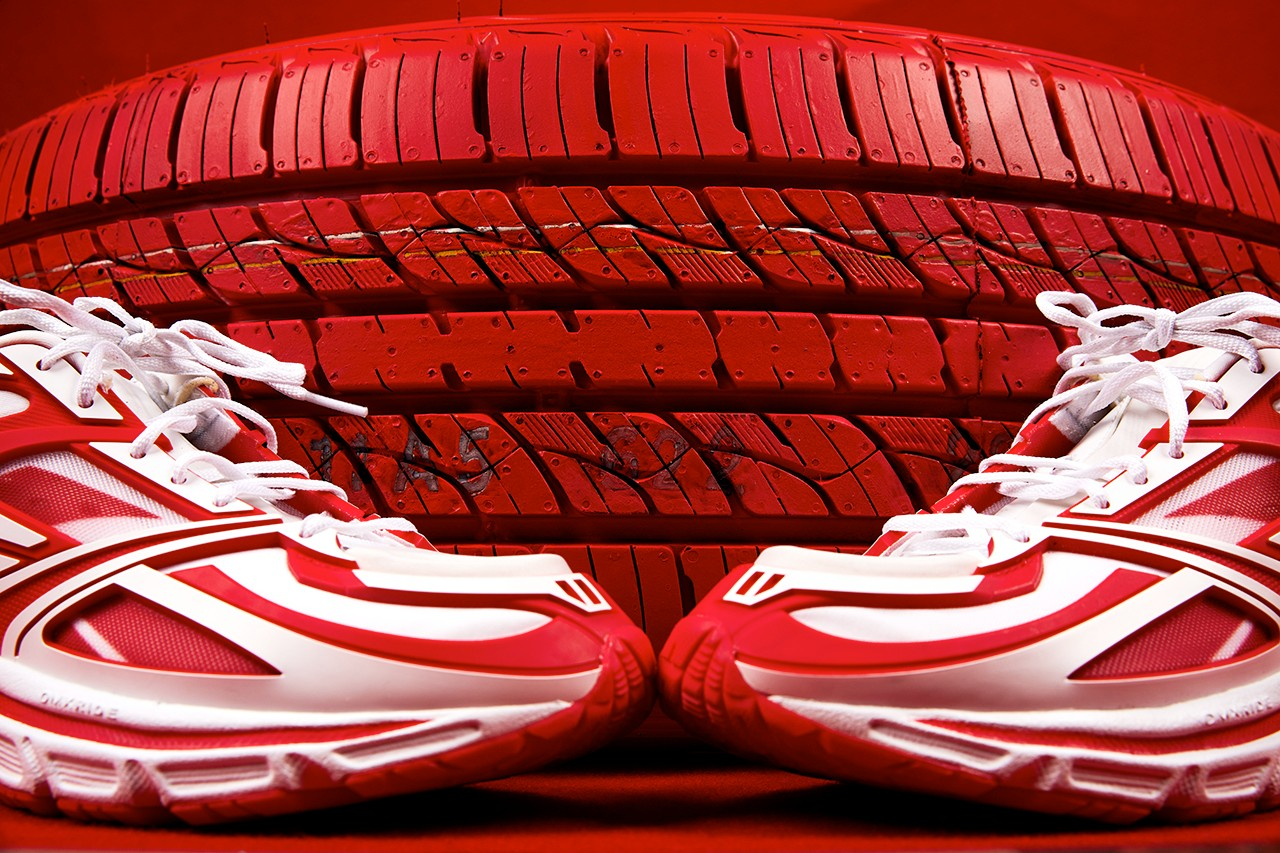 KANGHYUK x Reebok Premier Road Modern Red