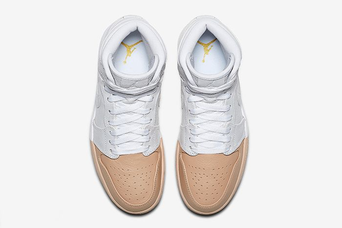 Air Jordan 1 Tan Dipped 4