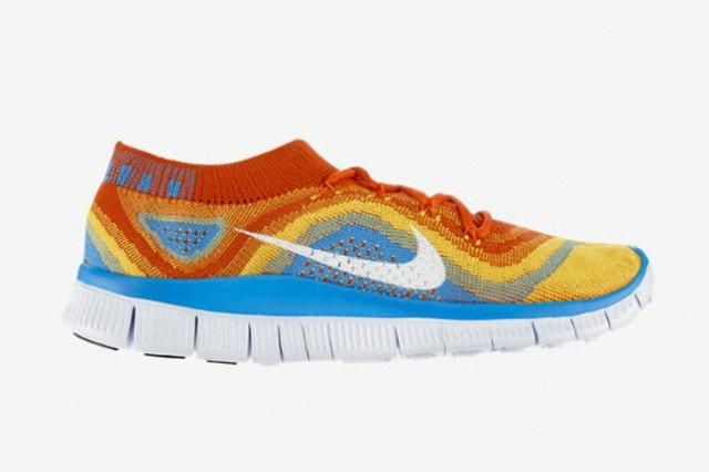 Nike Free Flyknit Primary Colours 41