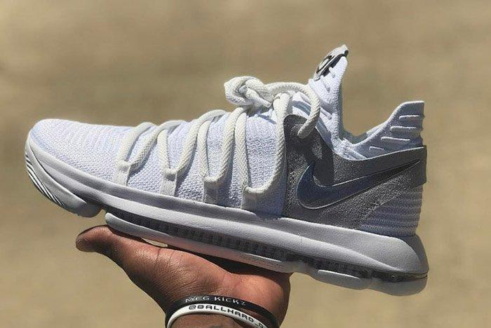 Nike Zoom Kd 10 Pure Platinum 1