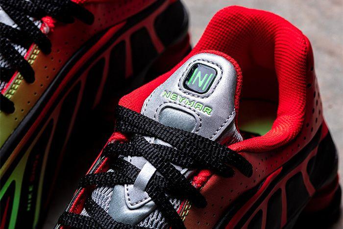 Nike Shox R4 Neymar Red Tongue