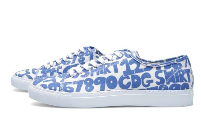 Comme Des Garcons Shirt X The Generic Man Print Sneaker 1