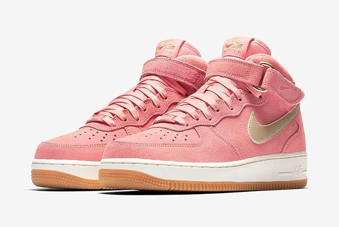 Nike Air Force 1 Mid Bright Melon 2