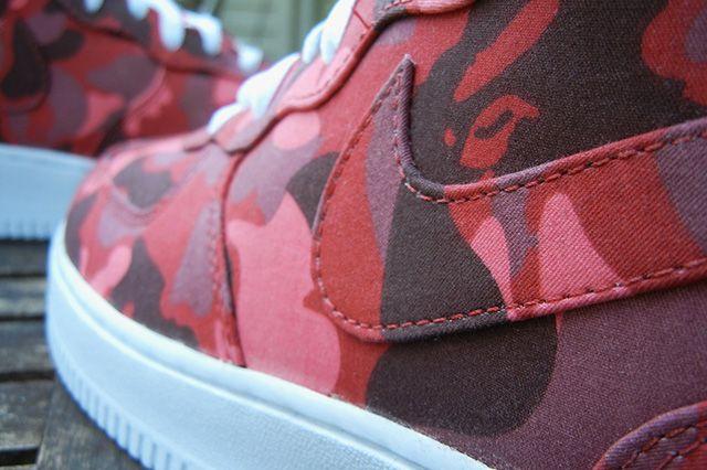 Jbf Customs Nike Air Force 1 Bape Camo 5