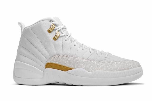 Drake Air Jordan Octobers Very Own White 12