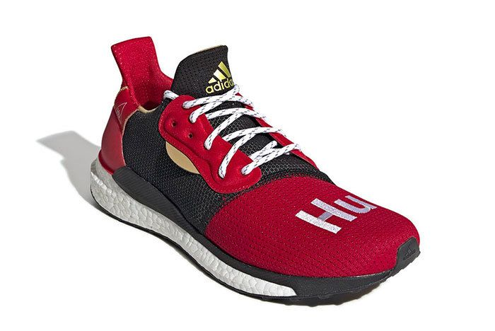 Pharrell Adidas Solar Hu Chinese New Year Sneaker Freaker2