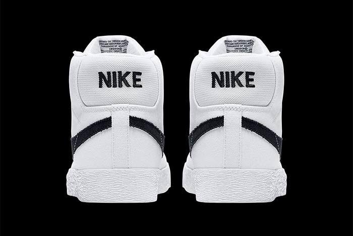 Nike Sb Blazer Mid Canvas 4