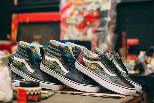 Sbtg X Kadir Warriors Vans Pack 13