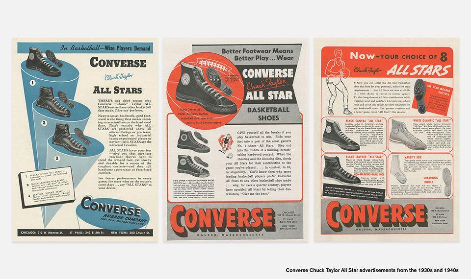 Converse Basketball History Web6