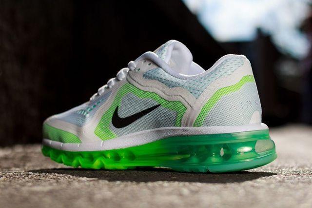Nike Wmns Air Max 2014 White Green 1