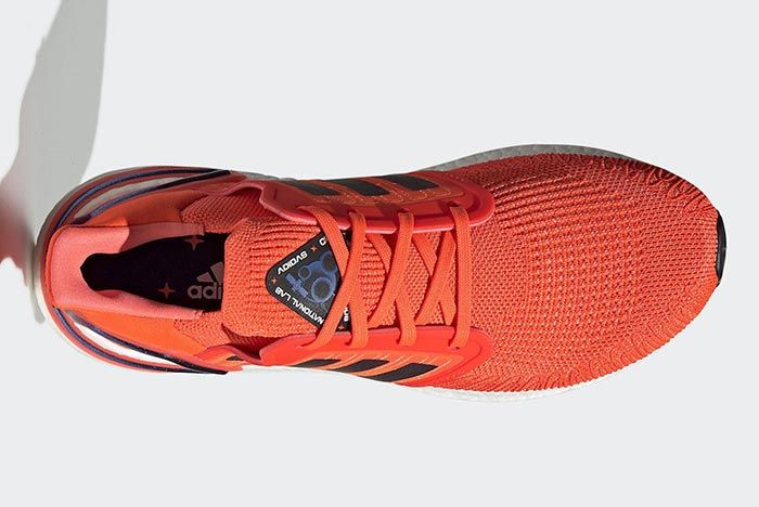 Adidas International Space Station Ultraboost Orange Above Shot