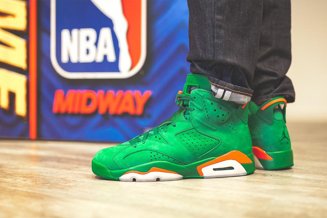 Gatorade X Air Jordan 6 Pine Green Release Date Sneaker Freaker 7