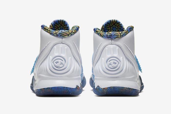 Nike Kyrie 6 Sapphire Heels