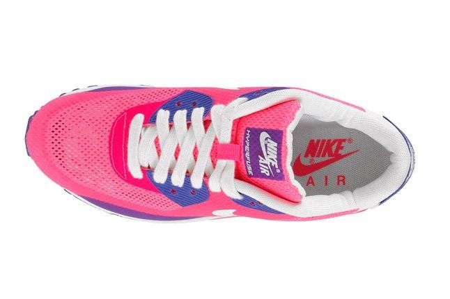 Nike Air Max 90 Premium Hyperfuse 2013 Pink Top 1