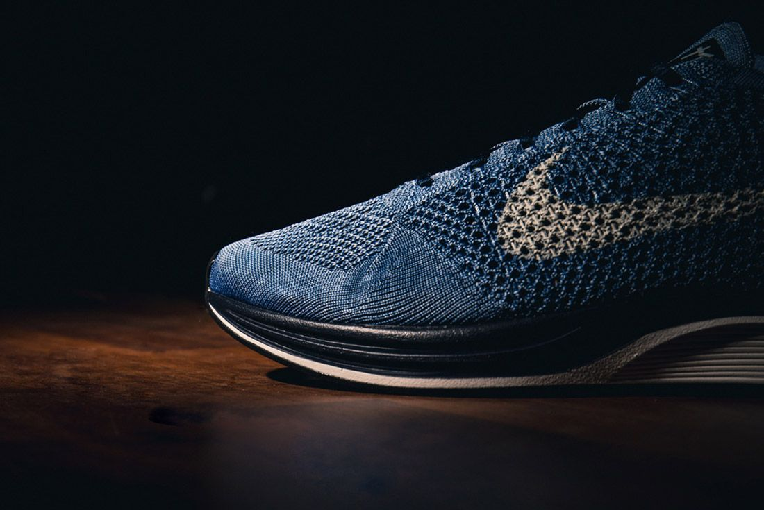 Material Matters Dye And Colour Indigo Flyknit Racer 1