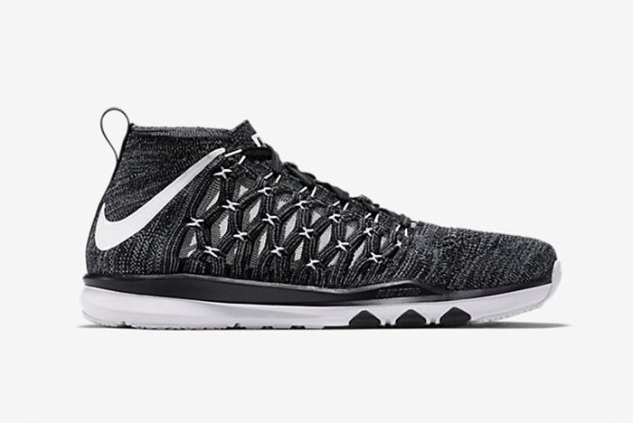Nike Train Ultrafast Flyknit Black White 1