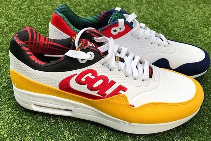 Crooks Castles Nike Air Max 1 G Golf First Look Release Date Pair