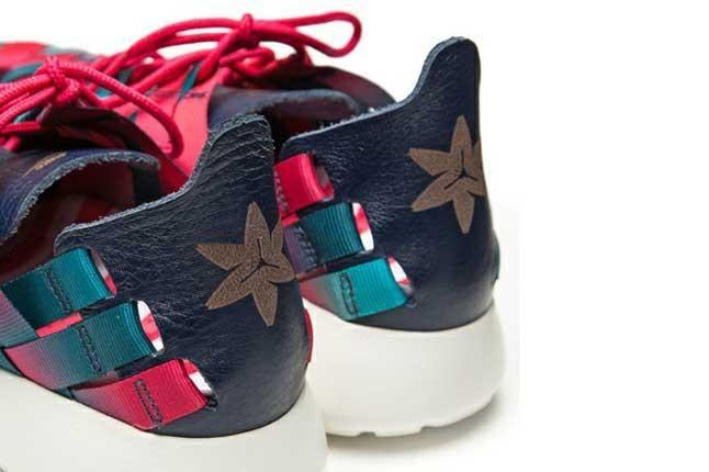 Nike Roshe Run Woven Nagoya Marathon Heel Detail 1
