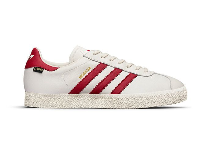 Adidas Gazzelle Gtx City Pack White Red Moskva 3