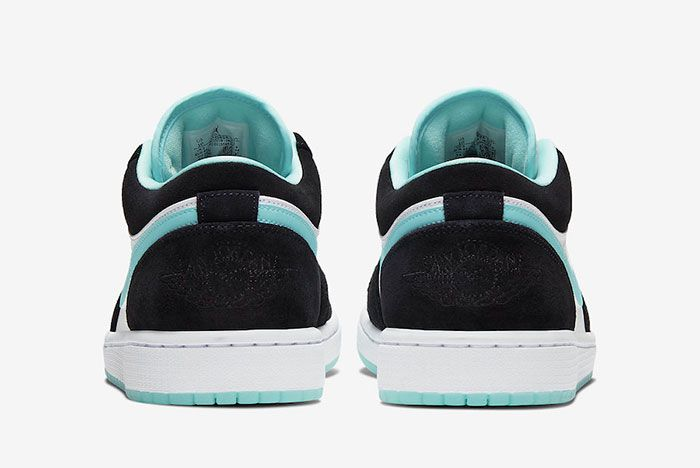 Air Jordan 1 Low Island Green Cq9828 131 Heel