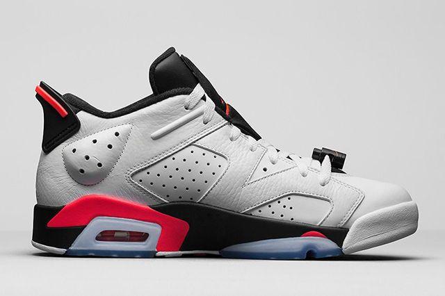 Air Jordan 6 Low Infrared 3