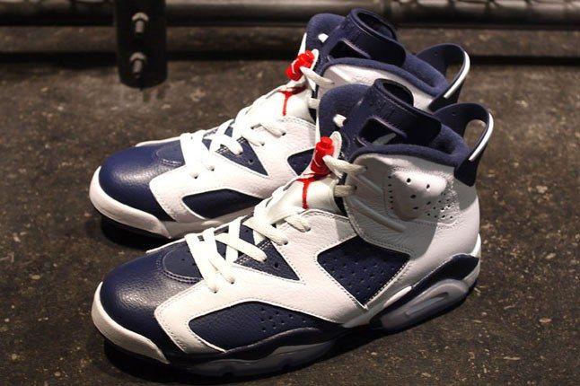 Air Jordan 6 Olympic 1 2