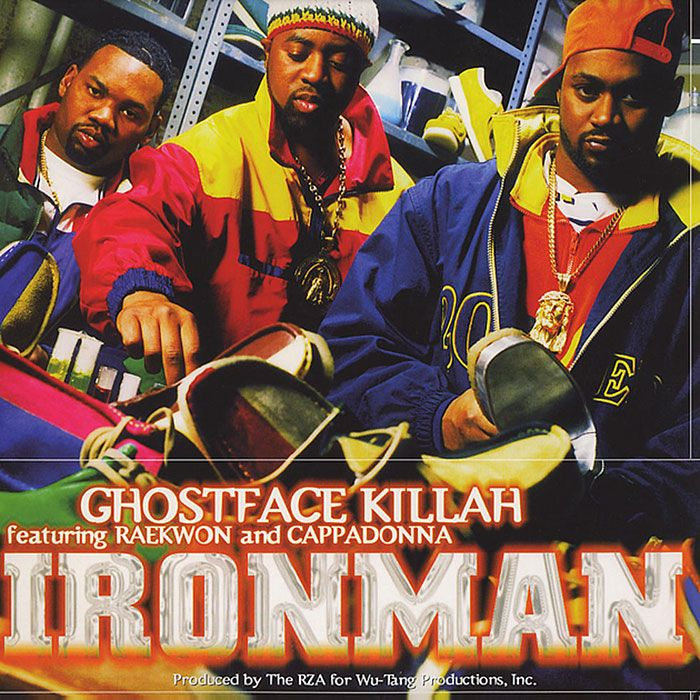 Ghostface Killah Ironman Album Cover