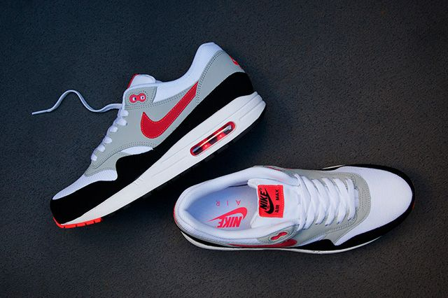 Nike Air Max 1 Black Red 2