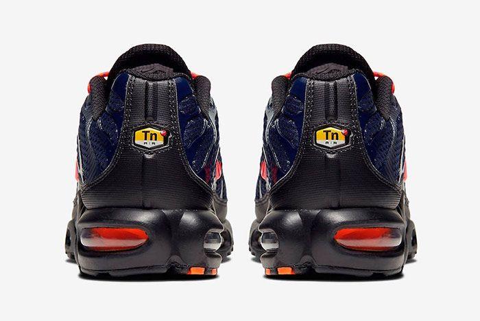 Nike Air Max Plus Toggle Navy Heel