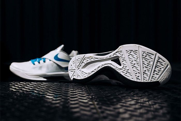 Nike Kd 4 White Blue Art Of A Champion 9