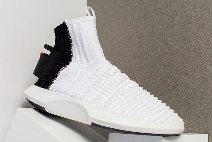 Adidas Crazy 1 Adv Sock Primeknit White Black Sneaker Freaker 2