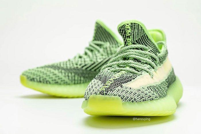 Adidas Yeezy Boost 350 V2 Yeezreel Reflective Glow Release Date 4 Pair