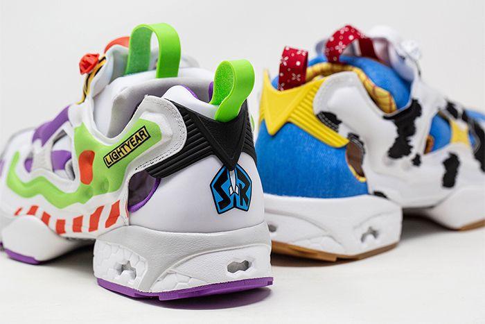 Bait Reebok Instapump Fury Toy Story 4 Buzz Heel