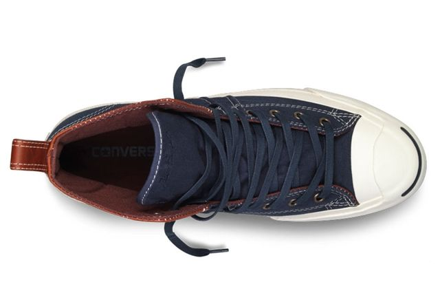Converse Jack Purcell Duck Boot Navy