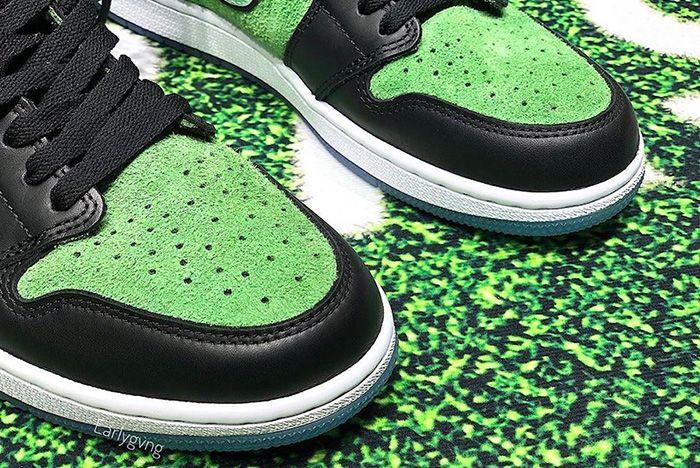 Air Jordan 1 Zoom Black Rage Green Ck6637 002 Release Date Leak 1