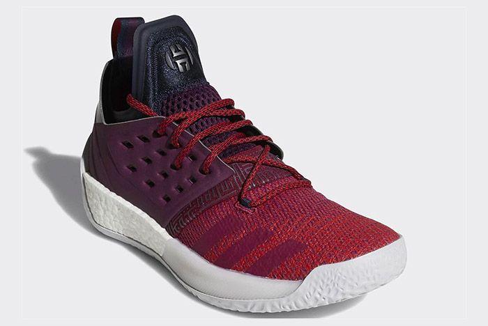 Adidas Harden Vol 2 Maroon 4