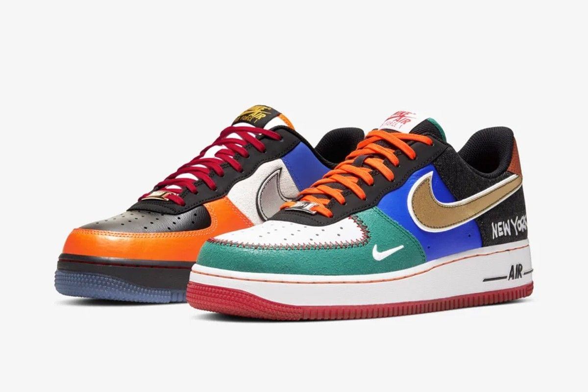 Nike Air Force 1 What The NY Angled