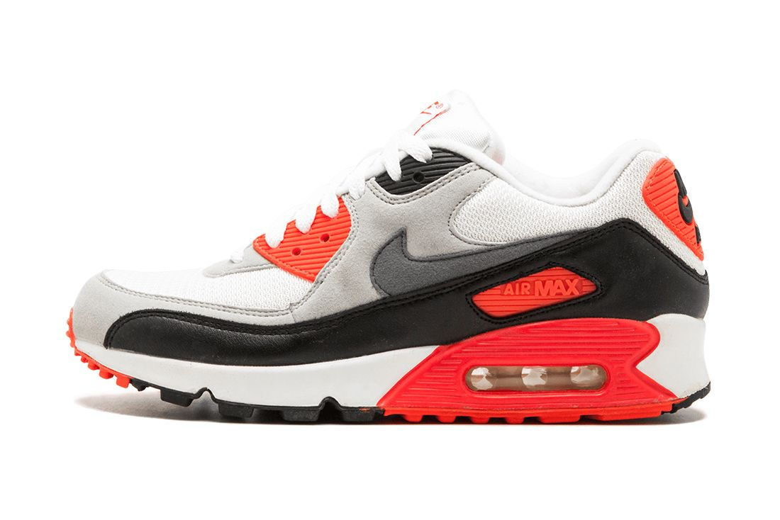 Nike Air Max 90 Infrared 725233 106 Lateral