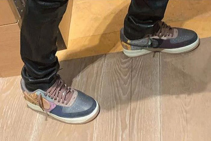 Travis Scott Air Force 1 Low Leak Release Date