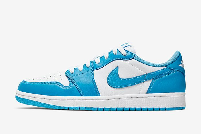 Nike Sb Air Jordan 1 Low Unc Cj7891 401 Lateral