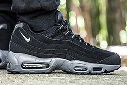Nike Air Max 95 Black Dark Grey